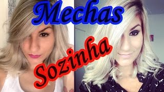 getlinkyoutube.com-Como fazer mechas no papel SOZINHA - Pamella Rocha
