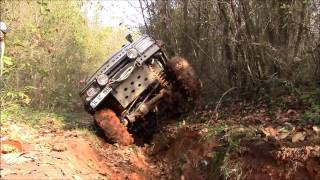 getlinkyoutube.com-5x Land Rover Discovery TD5   **Extreme Offroad Trip 2016/1 Şile**