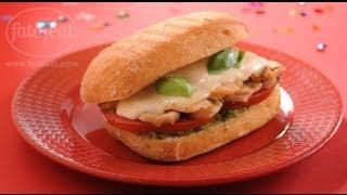 بانيني الدجاج بالبستو - الطباخ الصغير - فتافيت