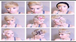 getlinkyoutube.com-HAIR Tutorial: How To ROCK 6 Different Pixie Styles