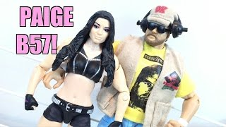 getlinkyoutube.com-WWE ACTION INSIDER: Paige Mattel Superstars Series 57 Wrestling Figure Review!