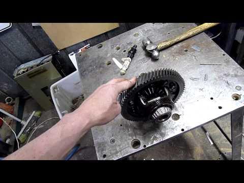 Daewoo Lanos (GM 5 Speed) FWD Diff Center Autopsy