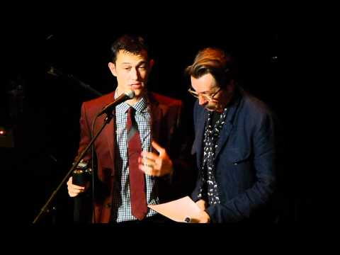 Gary Oldman and Joseph Gordon Levitt @ The Orpheum in Los Angeles (2011)