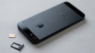 getlinkyoutube.com-iPhone 5 / 5S / SE HOW TO: Insert / Remove a SIM Card