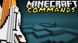 getlinkyoutube.com-SPACE COMMAND! | Minecraft Commands #22 | ConCrafter