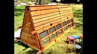 getlinkyoutube.com-Beautiful 10 foot long and 5 foot tall Chicken Coops for 3~15 chickens