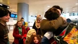getlinkyoutube.com-أجمل وأعظم لحظة بحياتي مشهد لقائي مع عائلتي لأول مرة بعد لم الشمل  في السويد