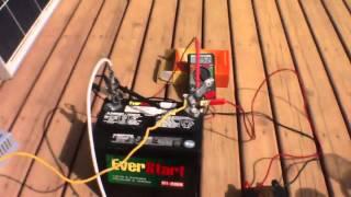getlinkyoutube.com-100 Watt Solar Engine Polycrystalline Solar Panel NEW / 10a MPPT Charger ($45) Kelowna BC