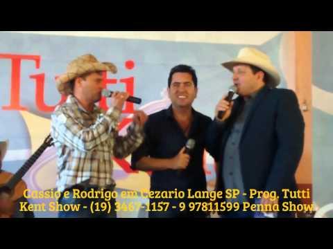 Cassio e Rodrigo na ccidade de Cezario Lange SP Prog. Tutti Ken Show - 20/07/2014