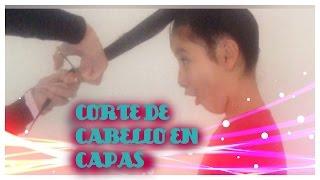 getlinkyoutube.com-COMO CORTAR EL  CABELLO EN CAPAS/ how to cut your hair