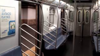 getlinkyoutube.com-IRT Lexington Avenue Line: Bronx-bound R142 5 Train Late Night Ride