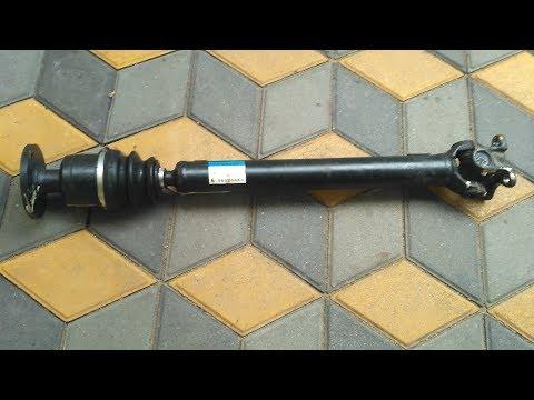 Ssang Yong Rexton. Замена (незаменяемого) пыльника переднего кардана. Ремонт или замена усилитетя.