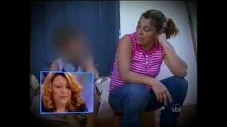"""getlinkyoutube.com-Menino de 9 anos, """"filho do capeta"""",  agride a própria mãe - Ratinho"""