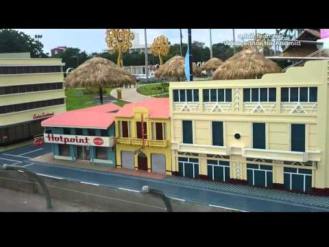 Puerto Salvador Allende Ciudad antigua de Managua En Maqueta