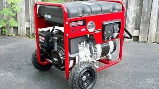 getlinkyoutube.com-My New Craftsman Generator with Briggs & Stratton Engine