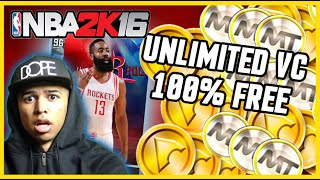 NBA 2K16 - HOW TO GET 200K VC EASY & FREE! APPNANA LEET! 100% LEGIT! DIAMOND JAMES HARDEN