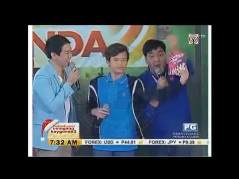 Juan Karlos (JK) Labajo LIVE on Umagang Kay Ganda  - Nov 25, 2014
