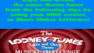 getlinkyoutube.com-The Looney Tunes Intro & Outro Themes Music Challenge