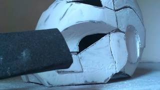 getlinkyoutube.com-IRON MAN HELMET BUILD ( Part 4 )