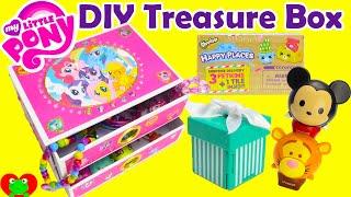 getlinkyoutube.com-DIY Treasure Box My Little Pony Jewelry Box with Surprises
