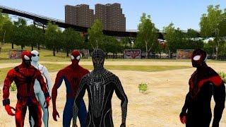 getlinkyoutube.com-Spiderman Army vs Thor