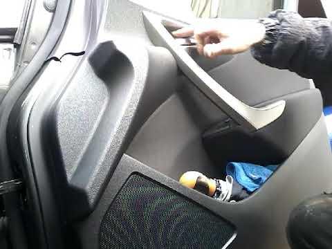 Как снять обшивку карту передней двери OPEL ASTRA J(2011) demontaz boczka drzwi przod/door panel rem