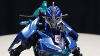 getlinkyoutube.com-Transformers Prime Deluxe ARCEE: EmGo's Transformers Reviews N' Stuff