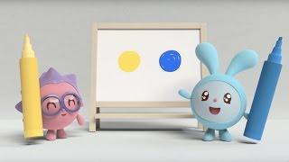 getlinkyoutube.com-Малышарики - Фломастеры. Синий и жёлтый (3 серия) | Мультфильмы для самых маленьких 1,2,3,4 года
