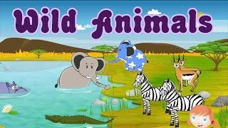 getlinkyoutube.com-Learn About Wild Animals, Animal Sounds, Fun and Educational Videos for Kids