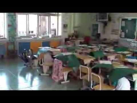 新泰國小國家防災日避難疏散實況