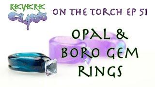getlinkyoutube.com-Gemstone Rings with FishMan Glass (Fixed Audio)    REVERE GLASS   