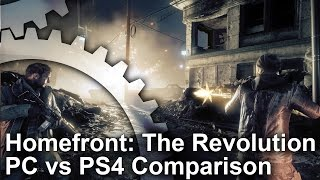 Homefront: The Revolution - PC vs PS4 Graphics Comparison