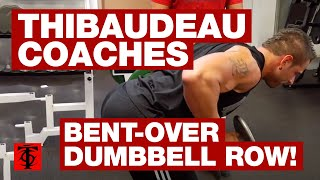 Bent-Over Dumbbell Row