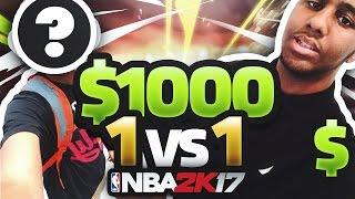 getlinkyoutube.com-$1,000 1v1 AGAINST YOUTUBER GONE WRONG !!! NBA 2K17 MyPark Wager CRAZY !