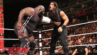 Mark Henry vs. Roman Reigns: Raw, Feb. 17, 2014