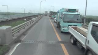 大型トラック「日野プロフィア」トレーラーを運転してみよう!②