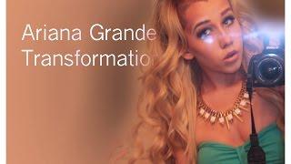 getlinkyoutube.com-Ariana Grande Inspired Boy To Girl Transformation
