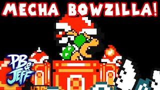 getlinkyoutube.com-Super Mario Maker - MARIO VS. MECHA BOWZILLA