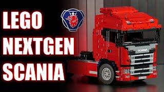 getlinkyoutube.com-Lego NextGen Scania Truck!
