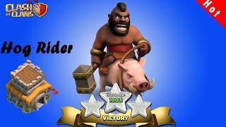 Cara Menyerang TH8 Menggunakan Hog Rider [Complete] | Clash Of Clans INDONESIA