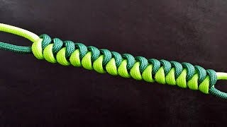 How to make a Snake Knot