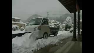 getlinkyoutube.com-除雪作業 軽トラ除雪車 スノープラウ
