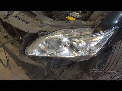 Как поменять все лампы и снять переднюю фару. Toyota Camry VII (XV50).