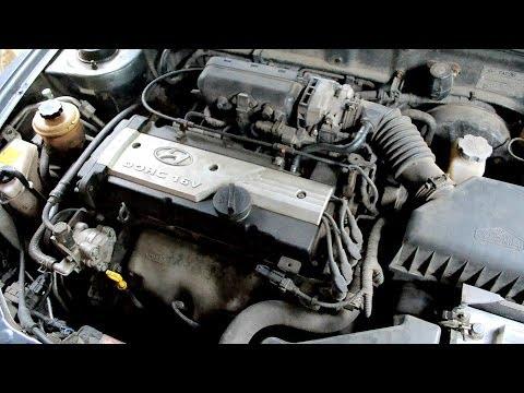 Звук двигателя Hyundai Accent