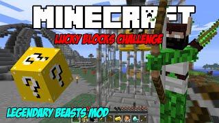 getlinkyoutube.com-Minecraft Lucky Blocks Colosseum:ตีบอสนักธนู Elf Hunter