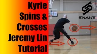 getlinkyoutube.com-How To - Kyrie Irving Spins and Crosses Up Jeremy Lin! Basketball Moves - Killer Crossover