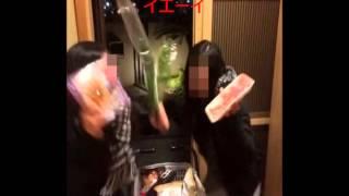 getlinkyoutube.com-【衝撃映像】スシロー店員の女子高生がとんでもない動画を公開・・・バカッター