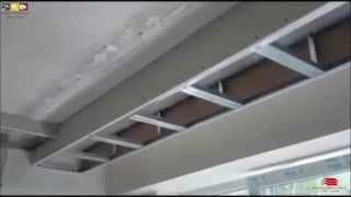 travaux decoration - faux plafond placo platre ( ba13 ) alger - algerie . الجزائر