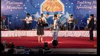 getlinkyoutube.com-ANURADHA SRIRAM & Super Singer SAI SHARAN  in GANESH KIRUPA Best Light Music Orchestra in Chennai
