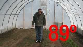 getlinkyoutube.com-Winter Growing in a Greenhouse